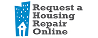Request a Housing Repair graphic