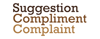 Suggestion Compliment Complaint graphic