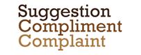 Suggestion Compliment Complaint graphic