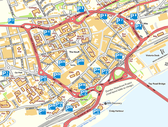 Visitor Parking Map Dundee City Council