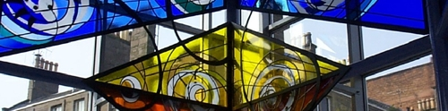 Public Art – Stained Glass At Seagate Bus Station