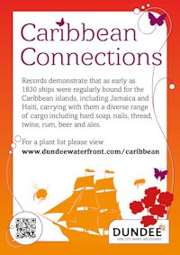 Caribbean Connections sign