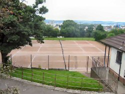 Dudhope Park Tennis Court