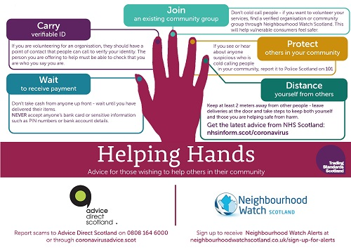 Helping Hands graphic