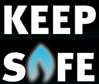 Keep Safe - Annual Gas Safety Check Poster