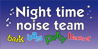 Night Time Noise Team