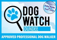 Dog Watch Sticker