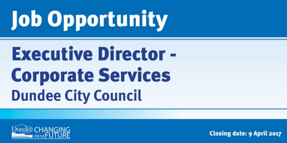 Job Opportunity - Executive Director - Corporate Services