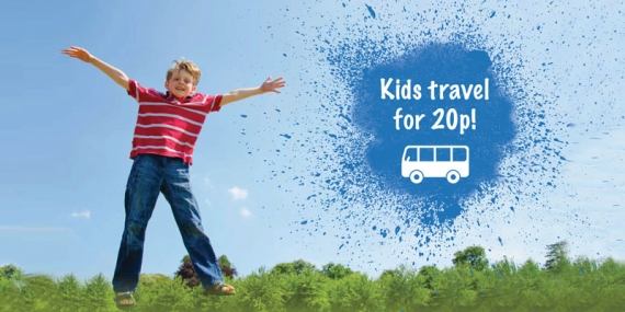 Kids Travel for 20p