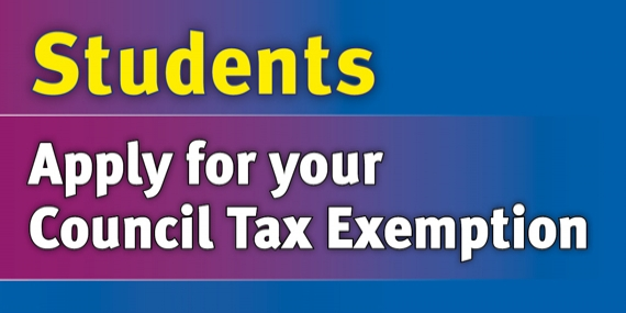 Students - apply for your Council Tax Exemption