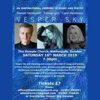 Vesper Sky An Evening of Songs and Poems with Stewart Henderson and Yvonne Lyon Image