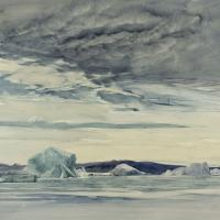 Among the Polar Ice Image
