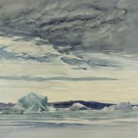 Among the Polar Ice Image