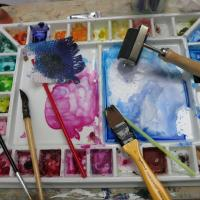Watercolour all Ways Class with Liz Dulley Image