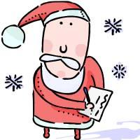 Santa Claus at Broughty Ferry Library Image