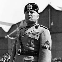 Mussolini and Rome Image