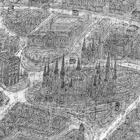 Large-scale Sketch of Dundee Image