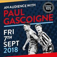 An Audience with Paul Gascoigne Image