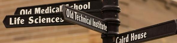 Photo of directional signage