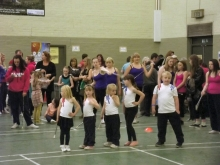 Ss Dance Elite at Kirkton Festival