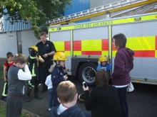 Scottish Fire Service at Kirkton Festival
