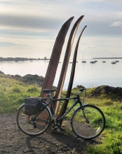 Sea Eagle Sculpture at Grassy Beach