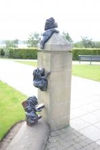 Lemmings statues