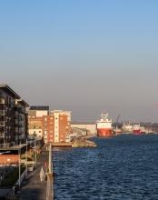 Waterfront Ship
