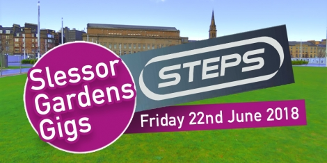 Steps to Slessor Gardens Image