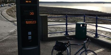Bike journeys break 50,000 Image