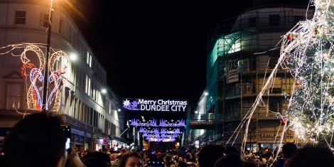 Christmas lights and festive events funding review Image