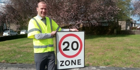 Work starts on 20mph zone Image
