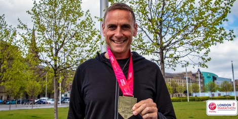 Marathon Success for Raymond! Image