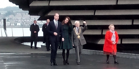 Duke and Duchess officially open V&A Dundee Image