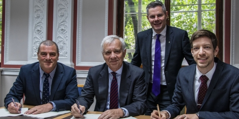 """Partners to create """"first-class"""" innovation centre at Michelin plant Image"""