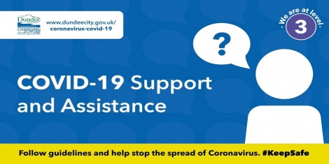 COVID-19 support and assistance still available Image