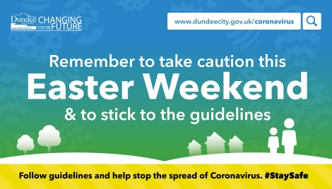 Caution urged over Easter weekend Image