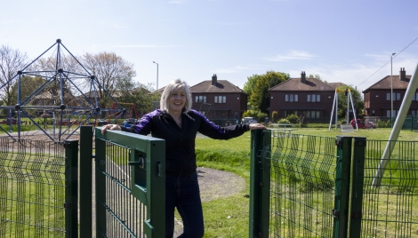 Play area and environmental improvement works  Image