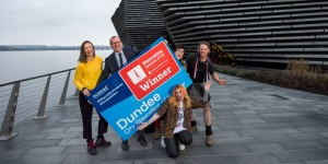 Dundee named UK's City Staycation of the Year Image