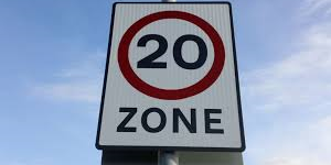 Spaces for people 20mph zones Image
