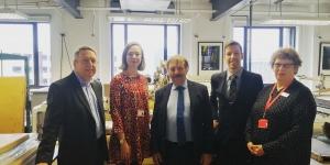 Tay Cities Deal bid visits DCA Image
