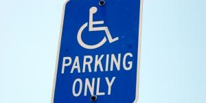 Disabled parking places Image