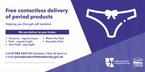 Free Period Product Delivery Service Launched  Image