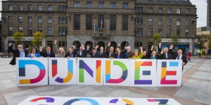 Councillors united for 2023 Bid Image