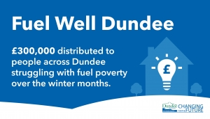 £300,000 distributed by Fuel Well Dundee Image