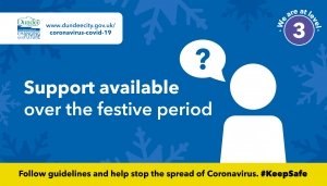 Support available over festive period Image