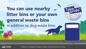 Reminder to dog owners when out and about Image