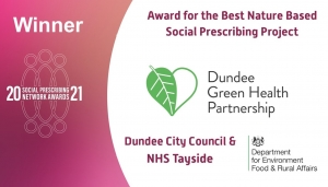 International recognition for Dundee Green Health Image