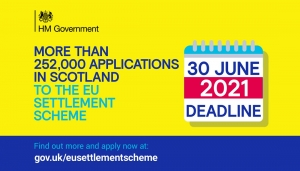 100 days to EU Settlement Scheme deadline Image