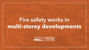 Fire safety works in the multi-storey developments Image
